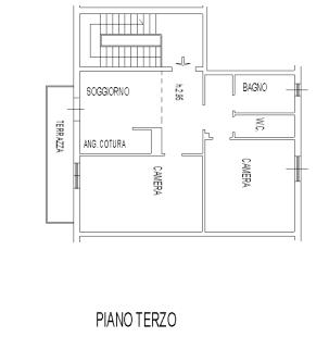 Planimetria 1/1 per rif. AP385