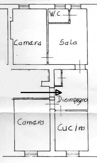 Planimetria 1/1 per rif. AP407