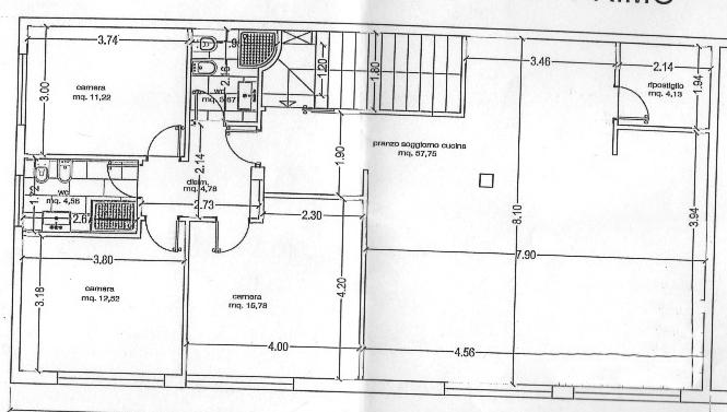 Planimetria 1/1 per rif. rb156
