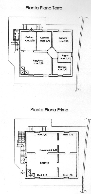 Planimetria 1/1 per rif. VU007