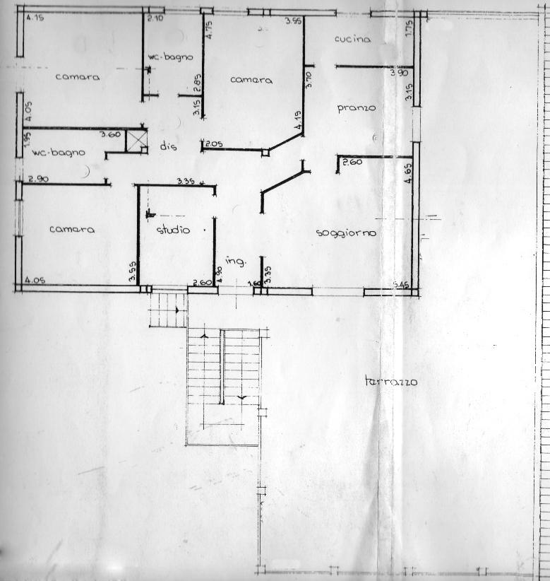 Planimetria 1/1 per rif. rb020