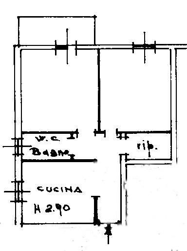 Planimetria 1/1 per rif. rb065