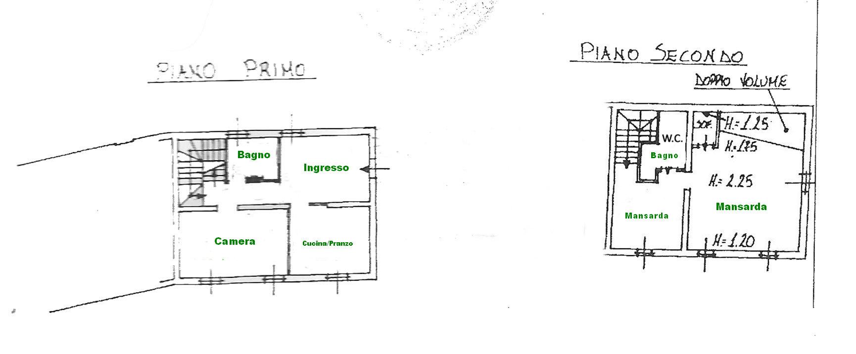 Planimetria 2/2 per rif. rb139