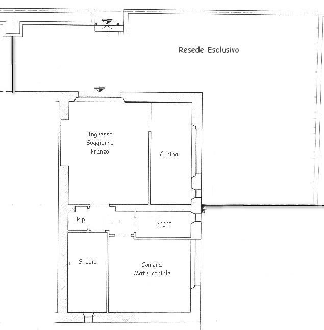 Planimetria 1/1 per rif. rb159