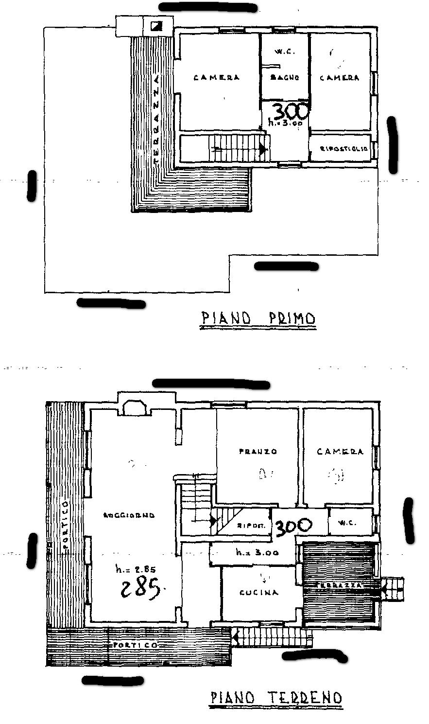 Planimetria 2/2 per rif. SB210