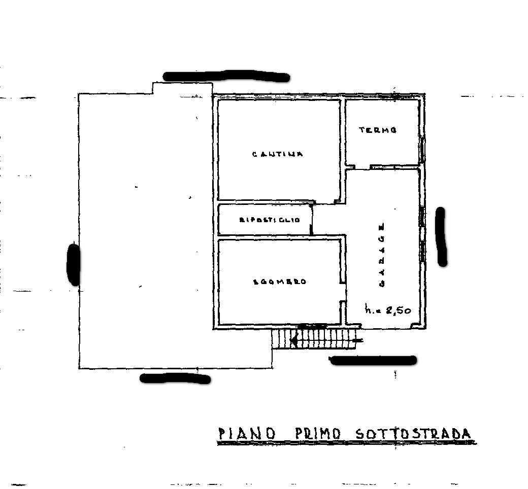 Planimetria 1/2 per rif. SB210