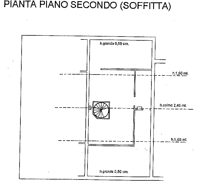 Planimetria 2/2 per rif. SB221