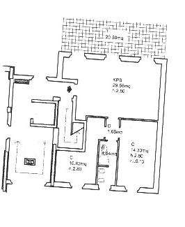 Planimetria 1/1 per rif. SB227