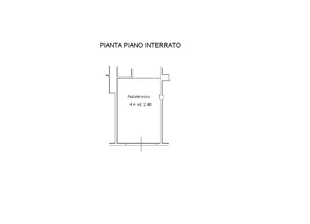 Planimetria 1/2 per rif. SB237