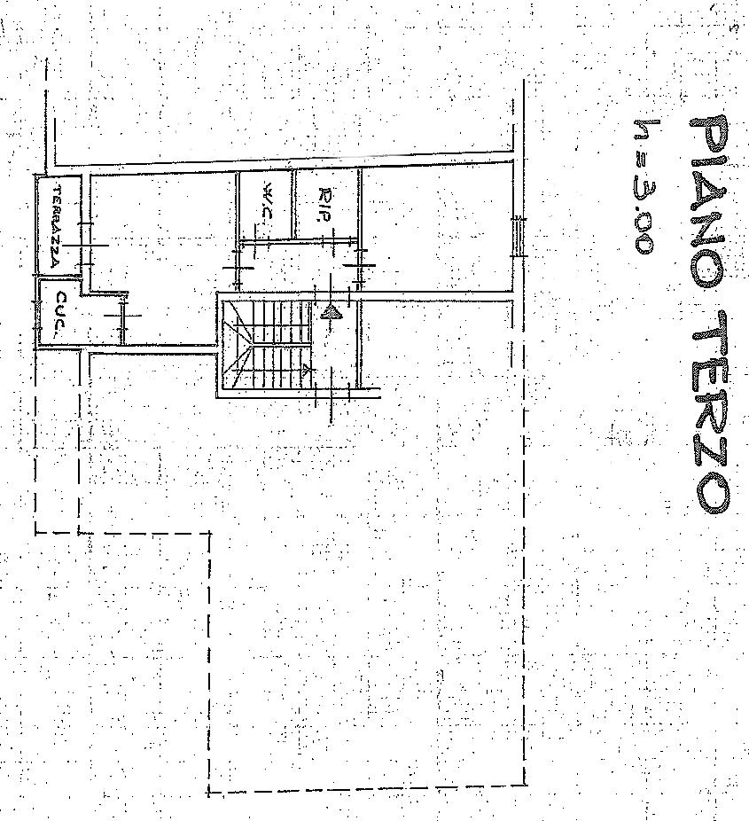 Planimetria 1/1 per rif. SB256