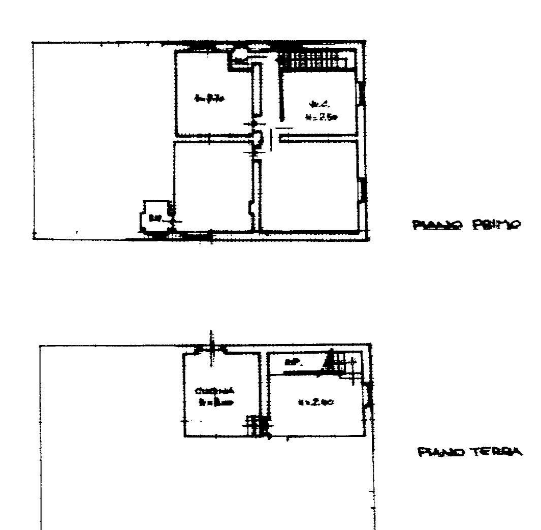 Planimetria 2/3 per rif. SB276