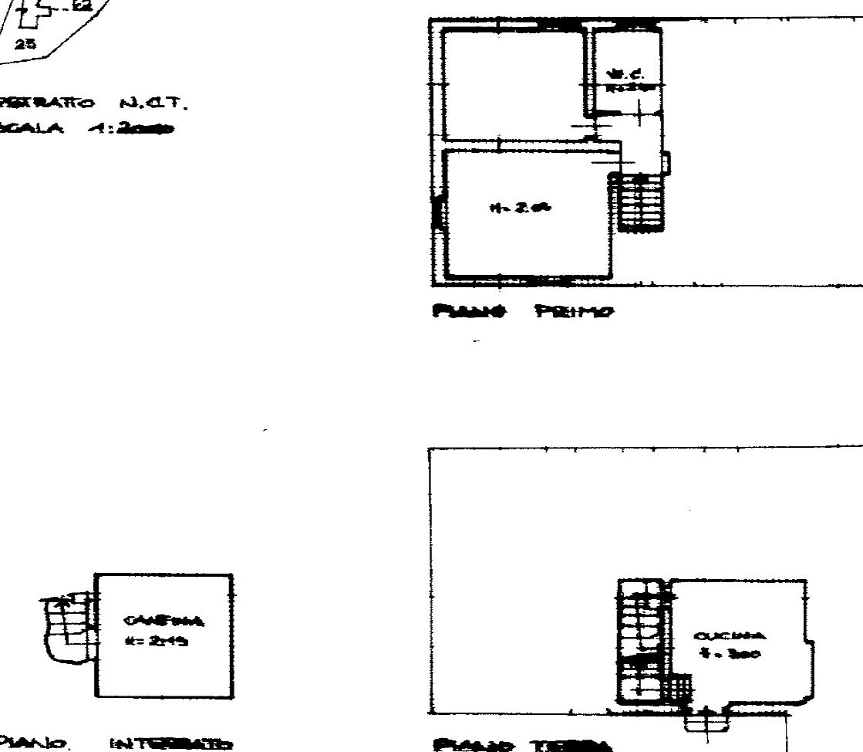 Planimetria 1/3 per rif. SB276
