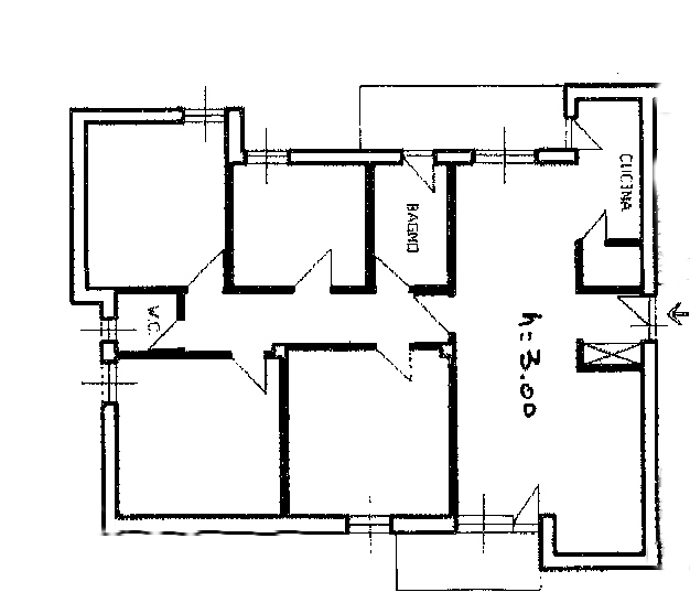 Planimetria 1/1 per rif. SB279