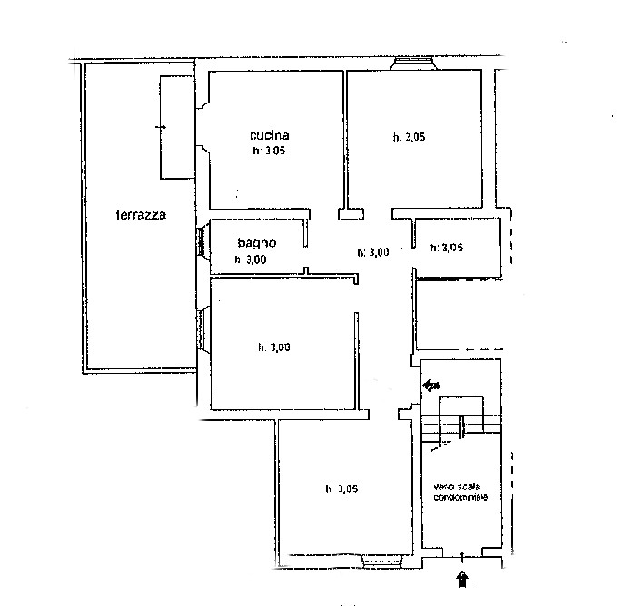 Planimetria 1/2 per rif. SB332
