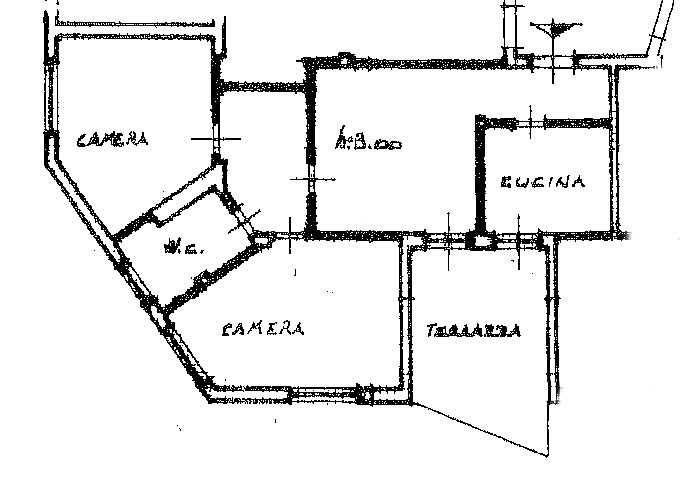 Appartamento in vendita, rif. SB359 (Planimetria 1/1)