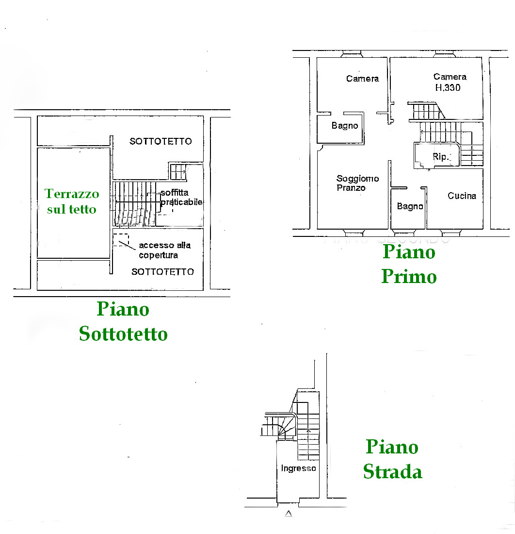Planimetria 1/1 per rif. SB402