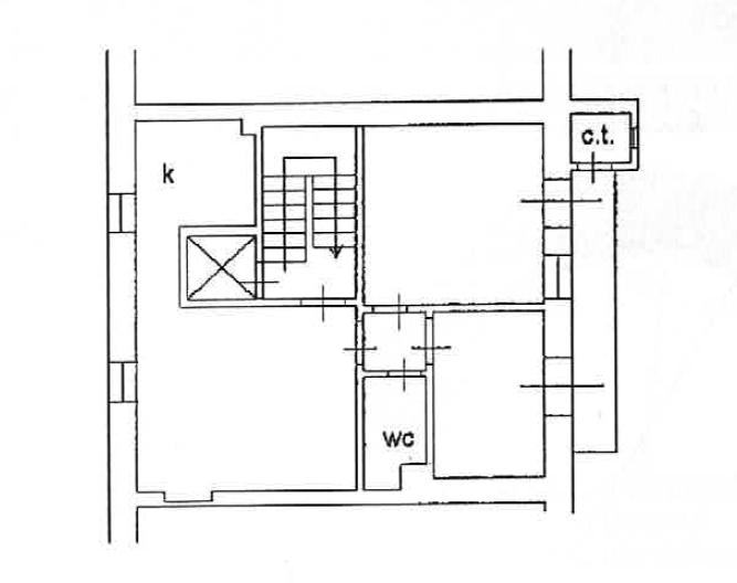 Planimetria 1/1 per rif. A1129