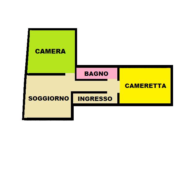 Planimetria 1/1 per rif. A804