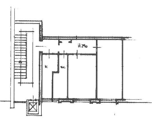 Planimetria 1/1 per rif. A957