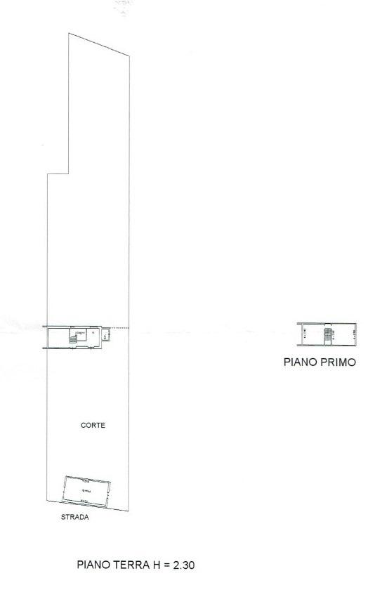 Planimetria 1/1 per rif. A975