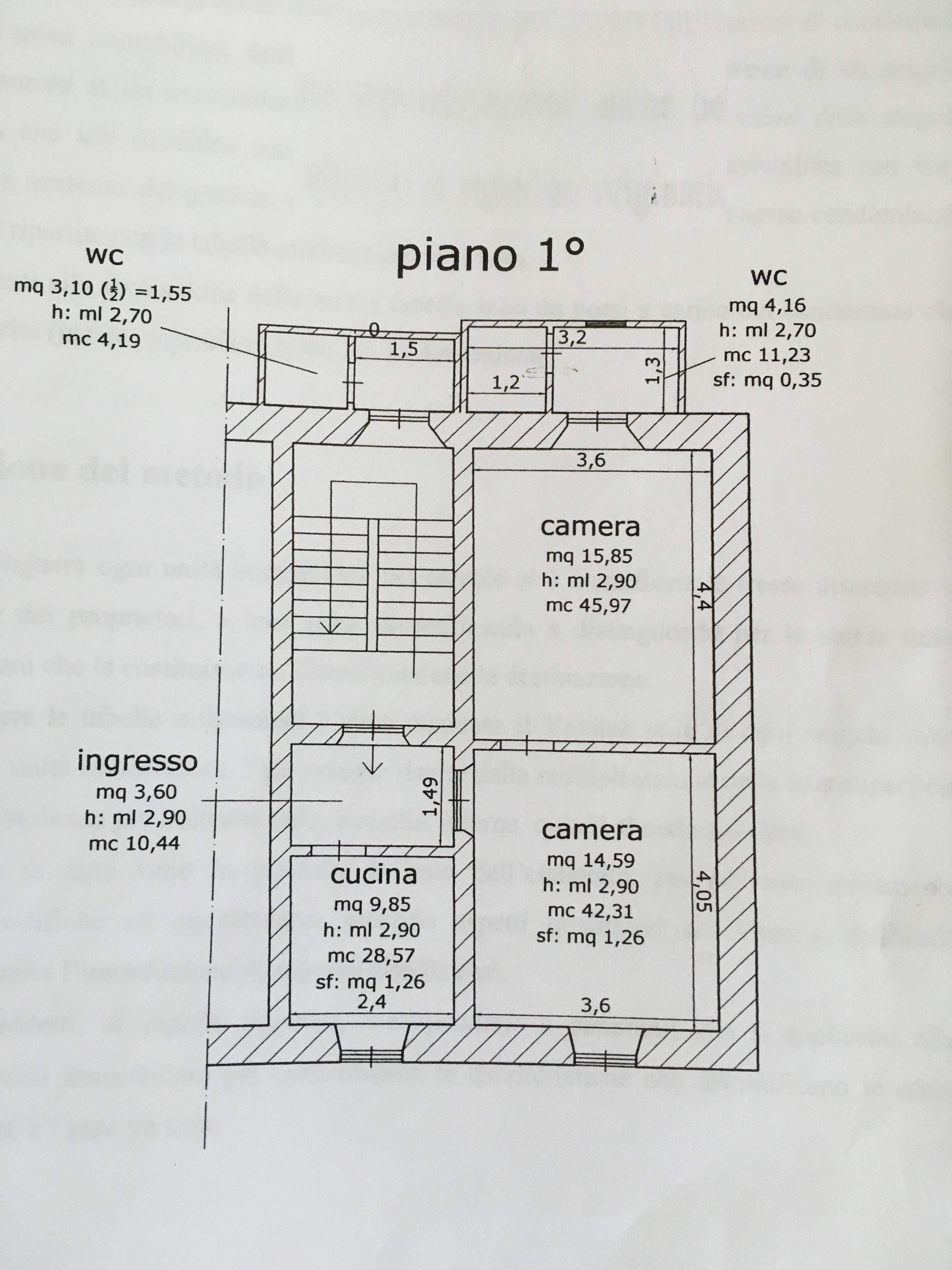 Planimetria 1/1 per rif. A981