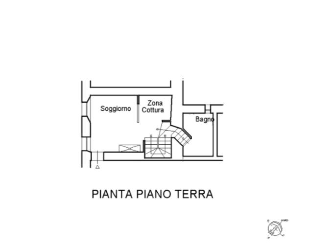 Planimetria 1/2 per rif. A988