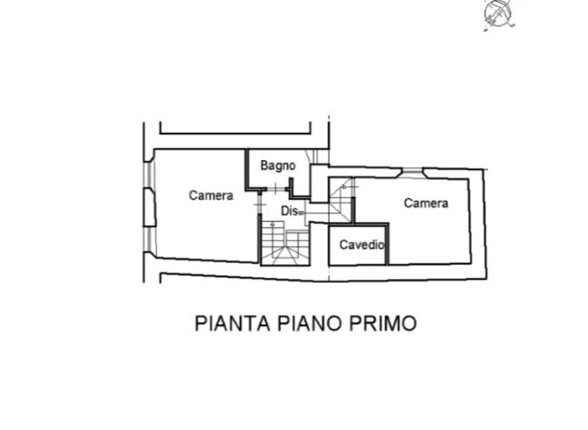 Planimetria 2/2 per rif. A988