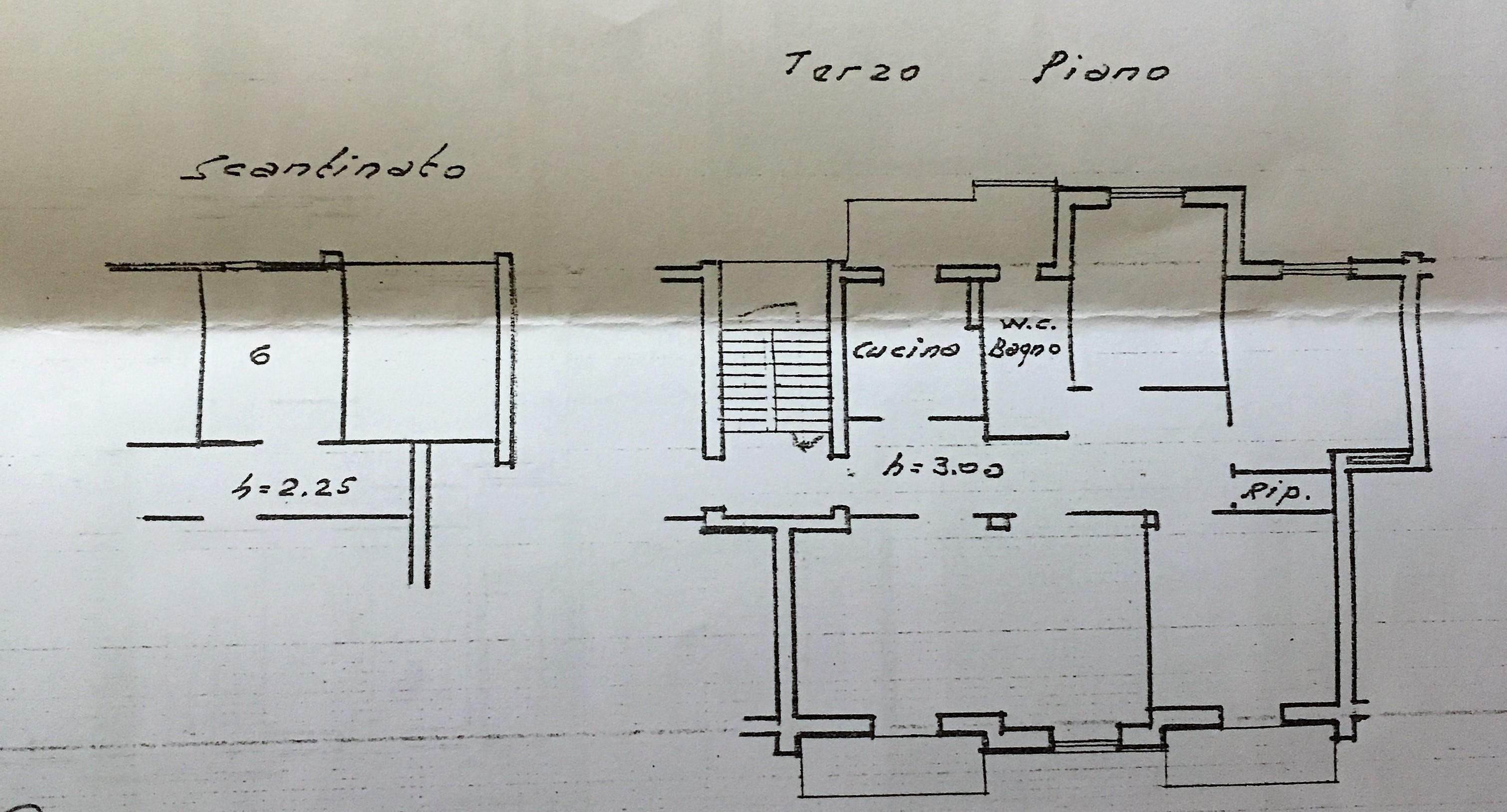 Planimetria 1/1 per rif. A991