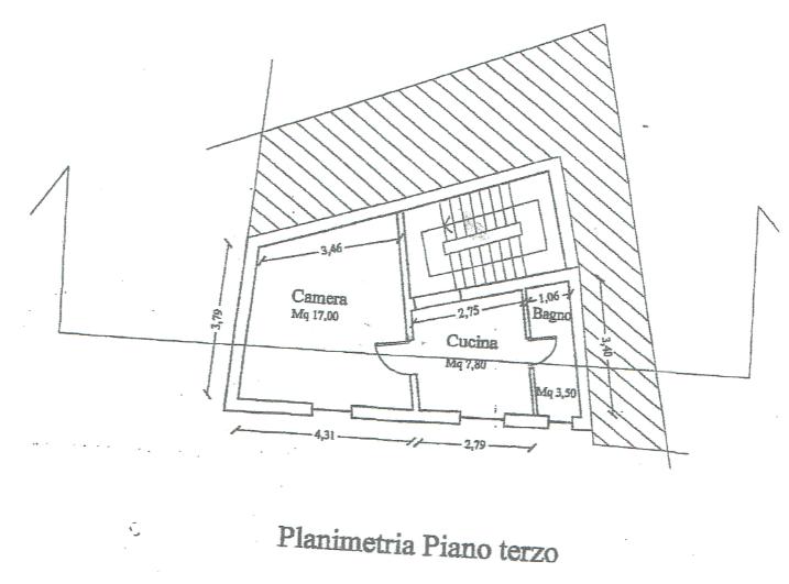 Planimetria 1/1 per rif. A1000