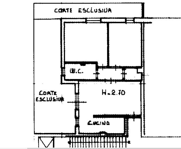 Planimetria 1/1 per rif. A1014