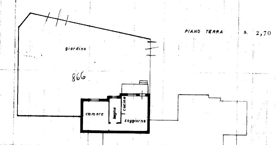 Planimetria 1/1 per rif. A1023