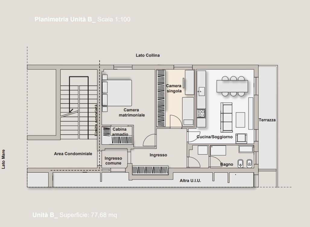 Planimetria 1/1 per rif. A1042