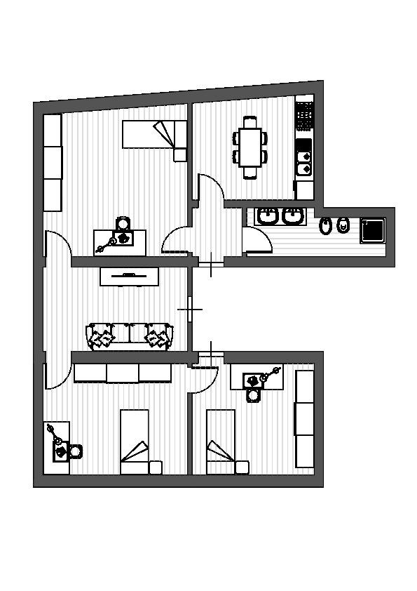 Planimetria 1/1 per rif. R005