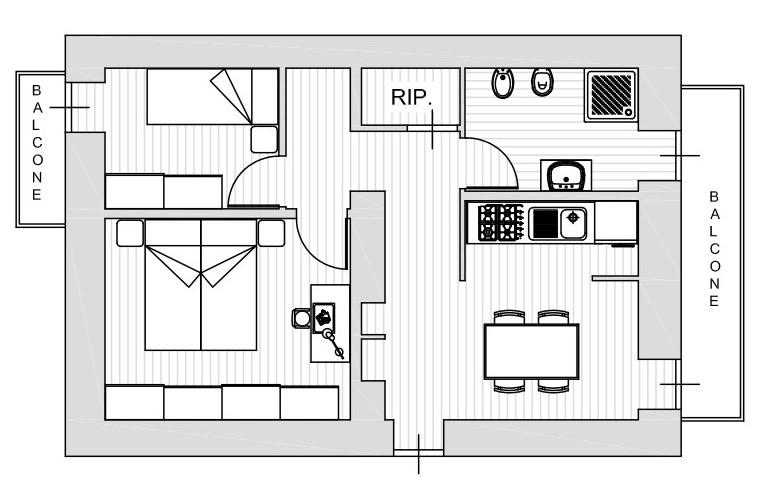 Planimetria 1/1 per rif. R009