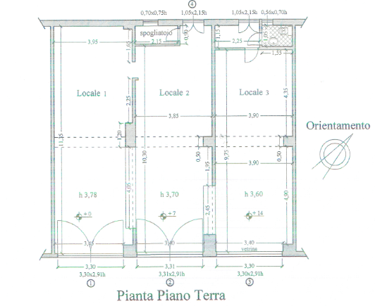 Planimetria 1/1 per rif. F084