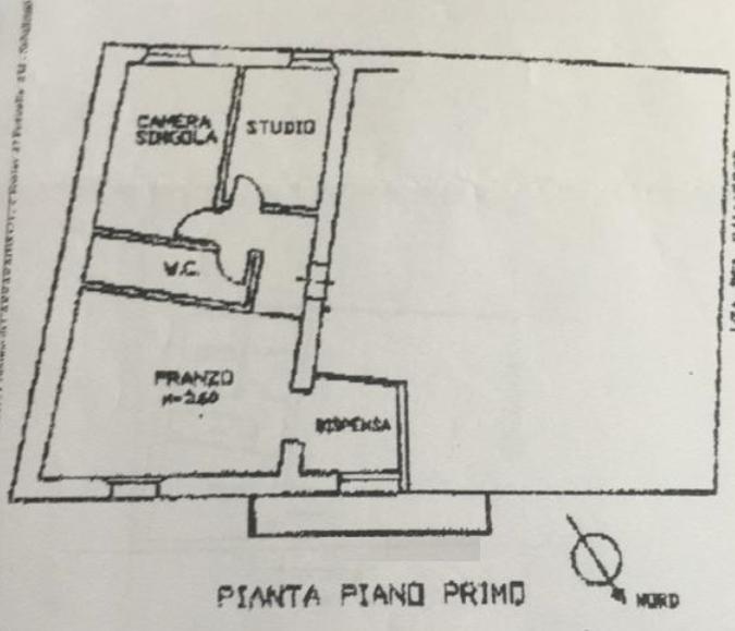 Planimetria 1/1 per rif. A1089