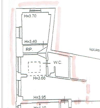 Planimetria 1/1 per rif. E350