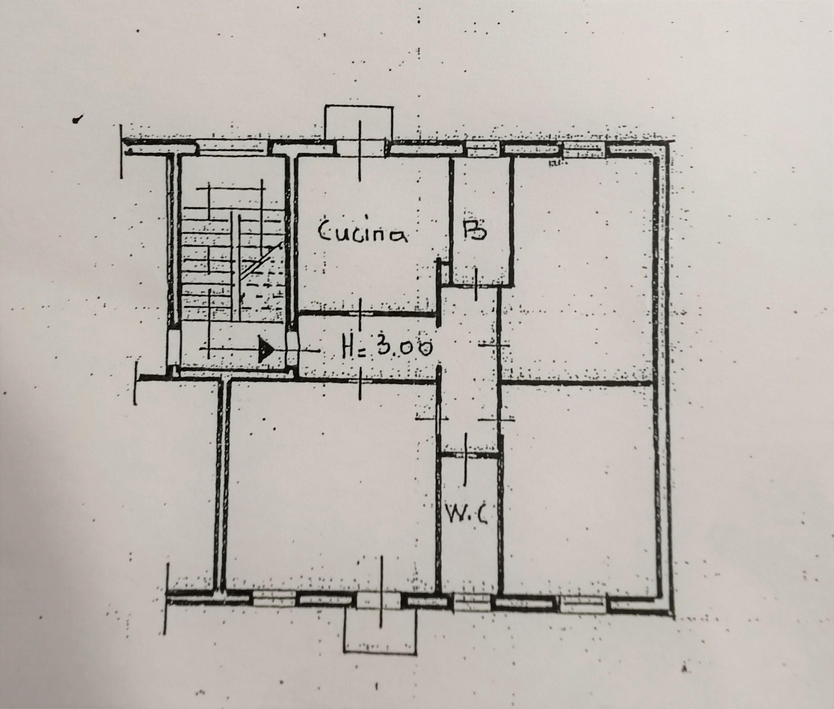 Planimetria 1/1 per rif. A1096