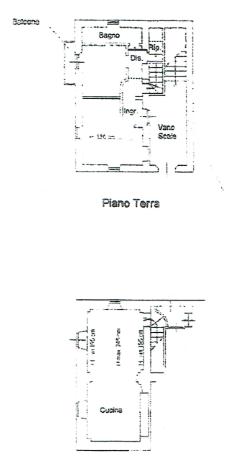 Planimetria 1/1 per rif. A1098