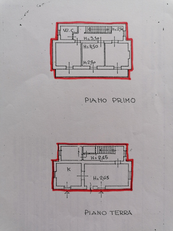 Planimetria 1/1 per rif. A1106