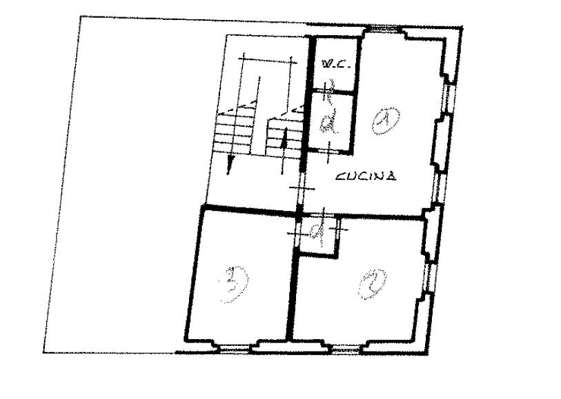 Planimetria 1/1 per rif. A1109