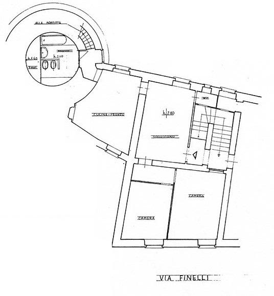 Planimetria 1/1 per rif. A1118