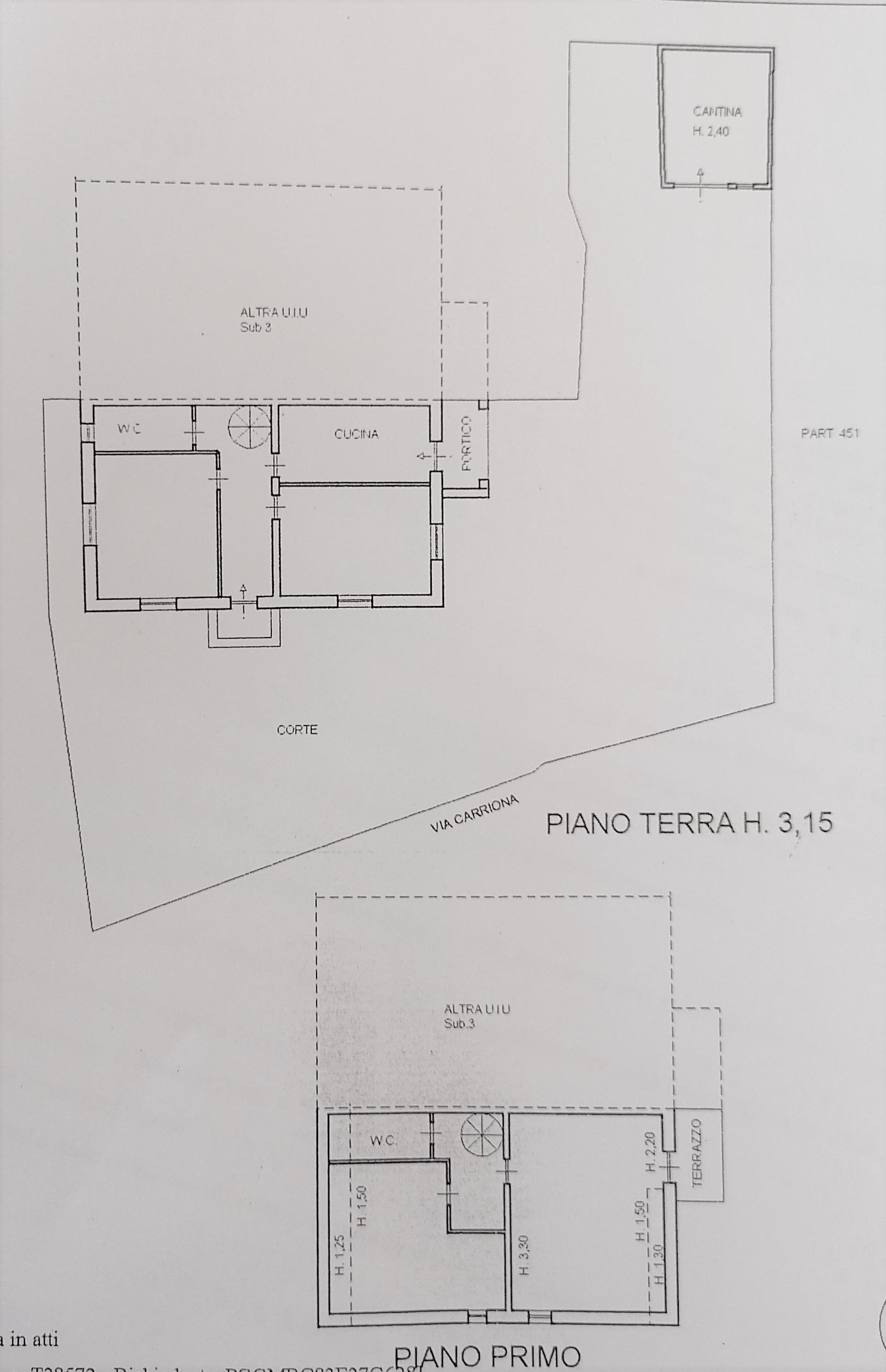 Planimetria 1/1 per rif. A1120
