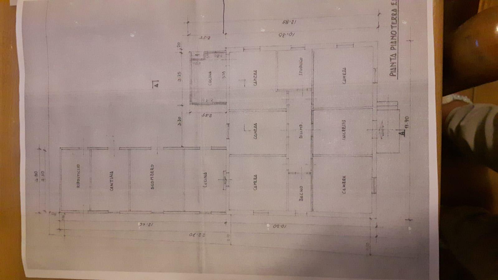 Planimetria 1/1 per rif. A1123