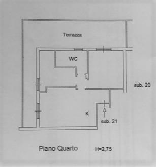 Planimetria 1/1 per rif. A1128