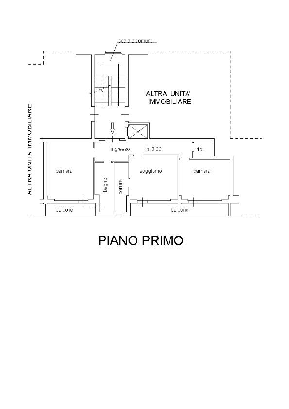 Appartamento in vendita, rif. 122 (Planimetria 1/1)