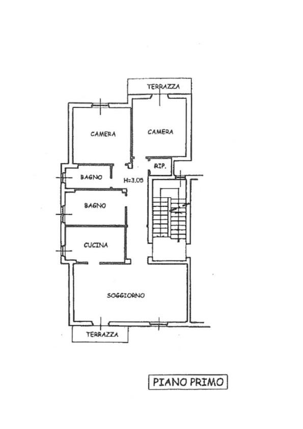 Appartamento in vendita, rif. 130 (Planimetria 1/1)