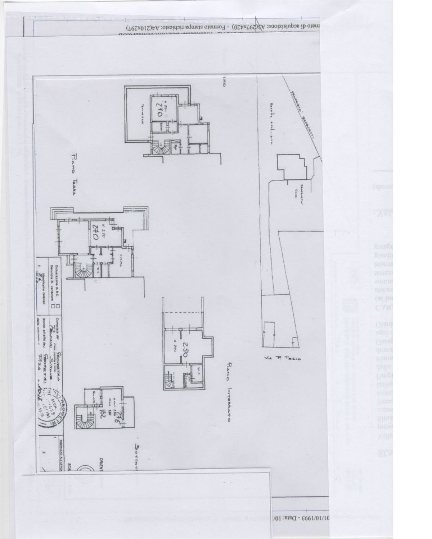 Planimetria 1/1 per rif. 187