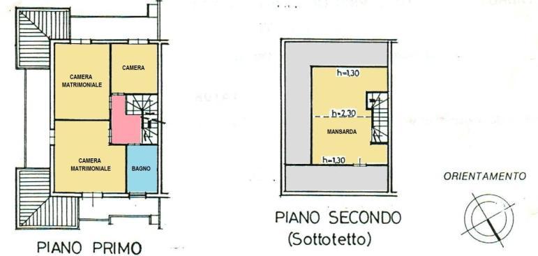 Planimetria 2/3 per rif. 300050