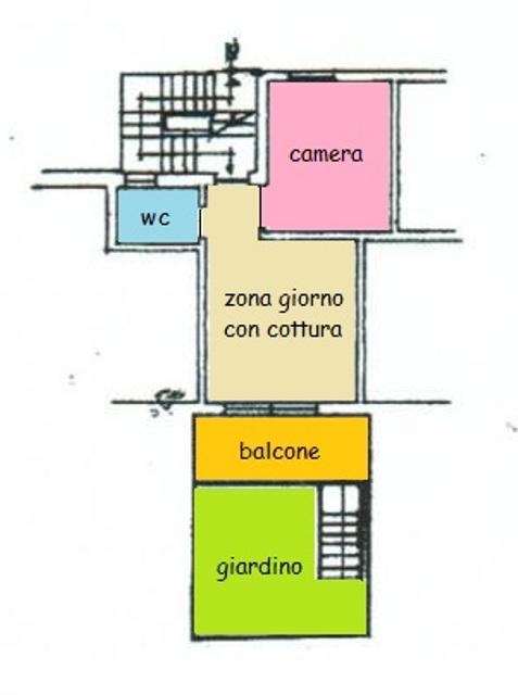 Appartamento in vendita, rif. 200894 (Planimetria 1/1)